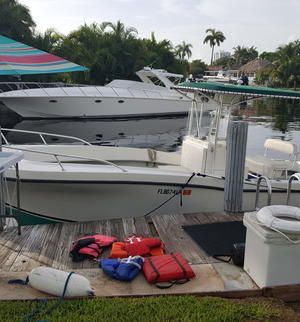 year make model boat rental in Dania Beach