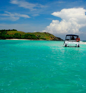 make model boat rental in St John, St John