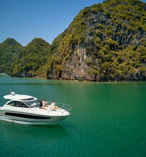 make model boat rental in Halong City,