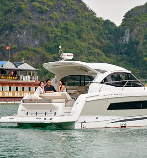 length make model boat for rent Halong City