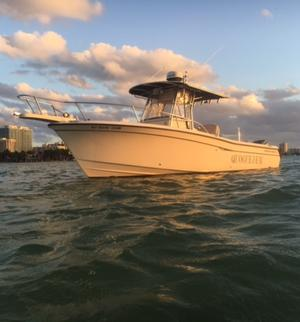year make model boat rental in Miami