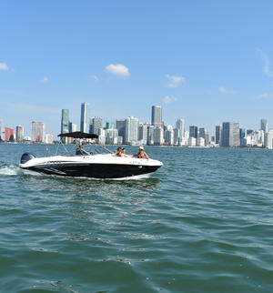 year make model boat rental in Key Biscayne